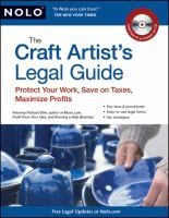 The Craft Artist's Legal Guide
