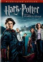 Harry Potter and the goblet of fire cover image