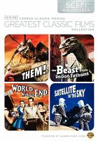 TCM greatest classic films collection. Sci-fi adventures [videorecording]