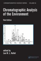 Chromatographic analysis of the environment [electronic resource].