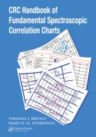 CRC handbook of fundamental spectroscopic correlation charts [electronic resource]