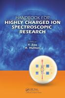 Handbook for highly charged ion spectroscopic research [electronic resource]