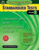 Prepare & Practice for Standardized Tests