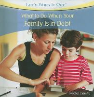 What to Do When your Family Is in Debt