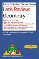 Let's review. Geometry