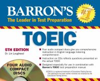 Barron's TOEIC, Test of English for International Communication