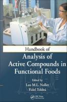 Handbook of analysis of active compounds in functional foods [electronic resource]