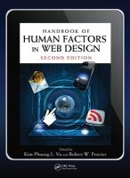Handbook of human factors in Web design [electronic resource]