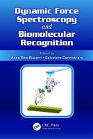 Dynamic force spectroscopy and biomolecular recognition [electronic resource]