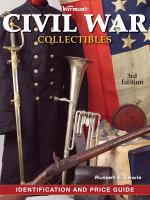 Book cover for Warman's Civil War Collectibles by Russell E. Lewis