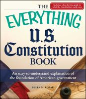 The Everything® U.S. Constitution Book