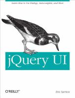 jQuery UI [electronic resource]