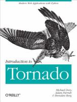 Introduction to Tornado [electronic resource]