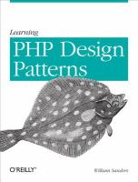 Learning PHP design patterns [electronic resource]