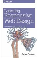Learning responsive web design : a beginner's guide