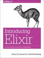 Introducing Elixir