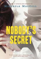 Cover of the book Nobody's secret : a novel of intrigue and romance