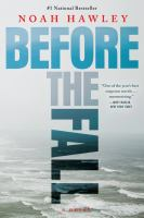 Before the Fall by Noah Hawley (book cover)
