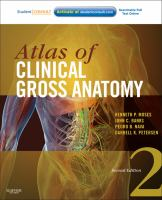 Atlas of clinical gross anatomy [electronic resource]