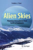 Alien Skies: Planetary Atmospheres from Earth to Exoplanets cover