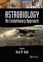 Astrobiology : an evolutionary approach cover