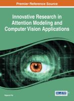Innovative research in attention modeling and computer vision applications