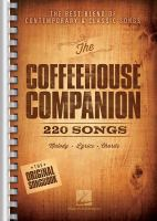 The coffeehouse companion : the best blend of contemporary & classic songs.