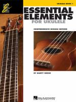 Essential elements for ukulele : comprehensive ukulele method