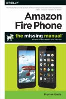 Amazon Fire phone : the missing manual