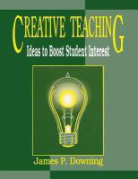 Creative teaching [electronic resource] : ideas to boost student interest