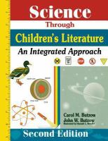 Science Through Children's Literature