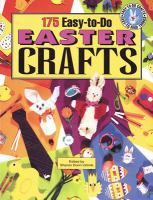 175 Easy-to-do Easter Crafts