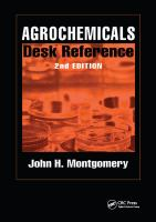 Agrochemicals desk reference [electronic resource]