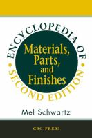 Encyclopedia of materials, parts, and finishes [electronic resource]