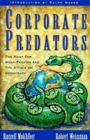 Corporate Predators