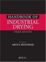Handbook of industrial drying [electronic resource]