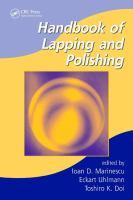 Handbook of lapping and polishing [electronic resource]