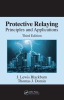 Protective relaying [electronic resource] : principles and applications