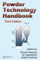 Powder technology handbook [electronic resource].