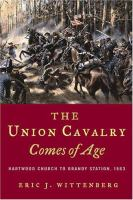 The Union Cavalry Comes of Age