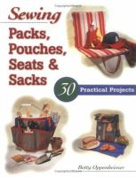 Sewing Packs, Pouches, Seats, & Sacks