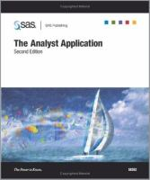 The analyst application [electronic resource].