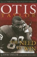 Otis Taylor : the need to win