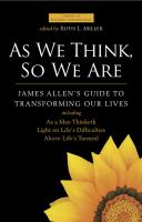 Cover Image of As we think, so we are