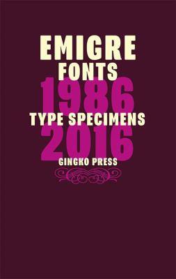 type specimens 1986-2016