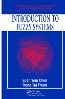 Introduction to fuzzy systems [electronic resource]