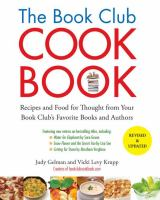 Book Club Cookbook / Judy Gelman
