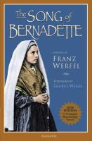 Cover Image of Song of Bernadette