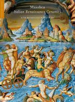 Maiolica : Italian Renaissance ceramics in the Metropolitan Museum of Art cover