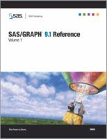 SAS/GRAPH 9.1 reference [electronic resource].